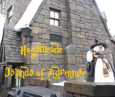 Hogsmeade at the Wizarding World of Harry Potter in Universal's Islands of Adventure park  - Top Tips for Islands of Adventure park at Universal Orlando in Florida at http://www.buildabettermousetrip.com/islands-of-adventure-tips/