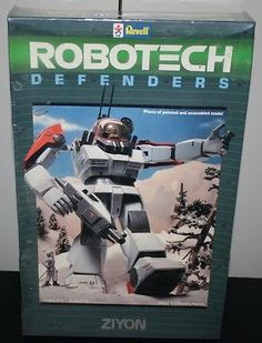 Revell-Robotech-Defenders-Ziyon-Model-Kit-1-72-Scale-NOS-Rare-