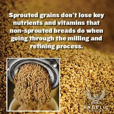 Why eat #SproutedBread vs non #Sprouted bread? Nutrition! #Fact #GoodToKnow