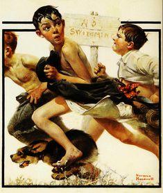 1921-Norman-Rockwell-Bai.jpg (600×709)