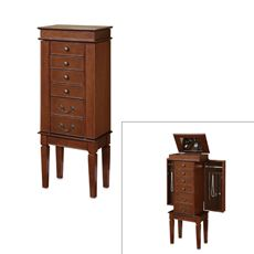 Walnut Jewelry Armoire - Bed Bath & Beyond (( IVE WANTED ONE OF THESE MY ENTIRE LIFE!! ))