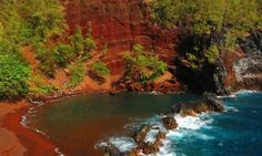 Red Sand Beach: A must-see when taking the picturesque Hana Highway. #MyTripAdvice