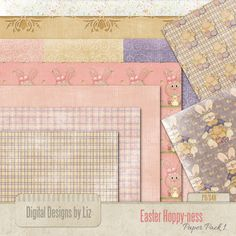 Easter Hoppy-ness Paper Pack1