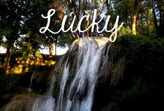 Waterfall in the middle of the village? Travel to LUCKY, Slovakia a see yourself :)