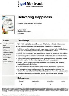 Find the largest selection of finance book summaries and business book summaries for managers and executives at getAbstract.com. Read a five page book summary on the most thought-provoking business books on the market. Get the book summary you are looking for right today!  http://www.getabstract.com/en/summaries/sales-and-marketing/15000000/