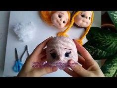Amigurumi Yüz ( Amigurumi Face Shaping PART amigurum. Amigurumi Doll, Amigurumi Patterns, Doll Patterns, Crochet Patterns, Baby Toys, Knitting Projects, Crochet Projects, Crochet Strawberry, Cute Baby Dolls