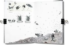 The Emperor's Castle Chapter 2 : THOMAS HILLIER need a storyboard sequence in the book.  these are wonderful