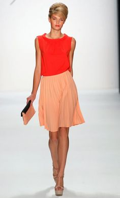 Germany's Next Top Model 2012, Luisa Hartema, at the Mercedes-Benz Berlin Fashion Week for Minx by Eva Lutz, S/S 2013