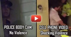 Cops Release Body Cam Video to Be 'Transparent' – AFTER they Edited Out their Violence Luckily multiple cellphones caught the officers' actions violence and expose the hollow attempt at transparency.