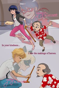 Miraculous Ladybug shared by Lizzy Dreams on We Heart It - Image discovered by Lizzy Dreams. Find images and videos about ladybug, adrien agreste and cat noir - Miraculous Ladybug Wallpaper, Miraculous Ladybug Fan Art, Lady Bug, Tikki Y Plagg, Marinette E Adrien, Mlb, Ladybug Und Cat Noir, Catty Noir, Meraculous Ladybug