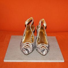 Laura Ashley LA-Abbots Leopard print pumps Inner gold lining. Barely worn, like new. #LauraAshley #leopardprint Laura Ashley Shoes Heels