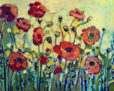 Anita's Poppies Art Prints by Jennifer Lommers - Shop Canvas and Framed Wall Art Prints at Imagekind.com