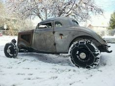 Rat Rod in Chains