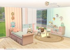 SIMcredible Designs: Donut kidsroom • Sims 4 Downloads
