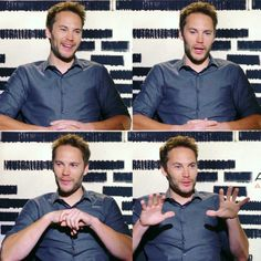 "Taylor Kitsch =Event (press conference by movie ""American Assassin"" Release in 09/2017. link https://www.youtube.com/watch?v=RULxMy1supg"