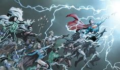 DC Entertainment has officially revealed their DC Rebirth creative teams, including who will be the new writers on Batman, Superman, The Flash, and more! Dc Rebirth, Dc Universe Rebirth, Justice League, Comic Books Art, Comic Art, Book Art, Dr Manhattan, Geoff Johns, Marvel E Dc