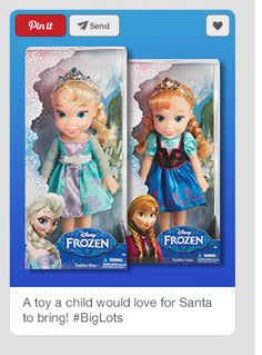 Anna, Elsa are a big hit with the little girls this Christmas so I am sending these babies with love and lots of great values from #BigLots