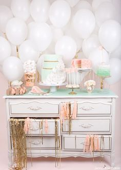Love this idea for a party or at a wedding