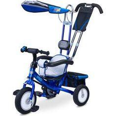 TOYZ Derby blue - синий  — 7750р. ------------------------------ Дополнительная информация  Toyz Derby – безопасная и прочная модель, которая совмещает в себе велоколяску и классический трехколесный велосипед. Пока ребенок не научится самостоятельно кататься на велосипеде, вы сможете совершать в нем прогулки, как в прогулочной коляске. Ребенок будет удобно сидеть, поставив ноги на подножку и пытаться рулить, в то время как мама будет катать малыша, используя родительскую ручку. Чуть позже…