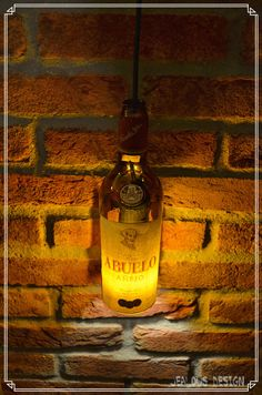 Ron Abuelo Bottle Light Hängelampe Pendellampe von JealousDesign auf Etsy