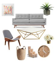 """""""Untitled #606"""" by jennah-abdulla on Polyvore featuring interior, interiors, interior design, home, home decor, interior decorating, Thrive, Nuevo, Frontgate and BoConcept"""