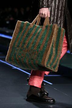 A look from the Fendi Fall/Winter 2017-18 runway show. - discount designer purses, purse ladies, handbags & purses *sponsored https://www.pinterest.com/purses_handbags/ https://www.pinterest.com/explore/hand-bags/ https://www.pinterest.com/purses_handbags/leather-purses/ http://www.rriveter.com/collections/signature-collection-2015