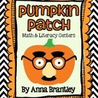 Happy Halloween!! These hands-on Pumpkin Patch centers will reinforce important first grade math and literacy standards {data, numeration, comparin...