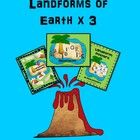 Save time and money with this landform bundle trio which includes  a 40 page SMART Board Lesson  that shows the following landforms and definitions...