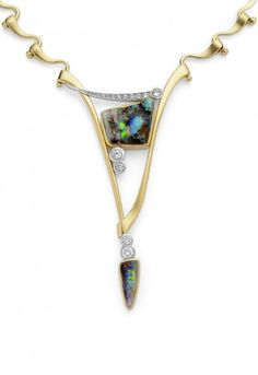 Annette Gabbedey - incredible goldsmith. This necklace is called 'Magnificence' and I think you'll see why!