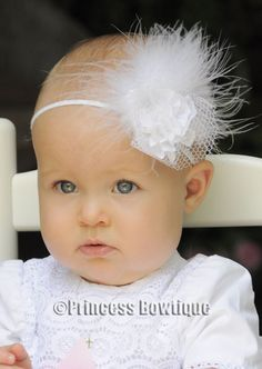 so cute...i don't know if i love the baby or the headband more.