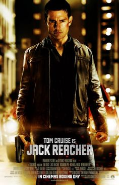 """Tom Cruise in the first poster of """"Jack Reacher"""""""