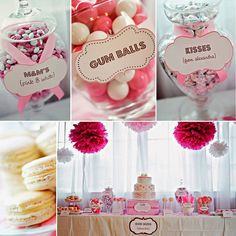 Adorable for a baby girl baby shower! wink wink!