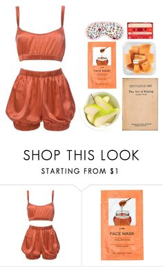 """""""sunrise"""" by mae-lia ❤ liked on Polyvore featuring Roses Are Red, Daphne and H&M"""