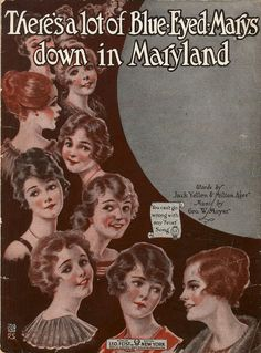 There's a lot of blue-eyed Marys down in Maryland (a3387) - Historic American Sheet Music - Duke Libraries