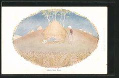 Künstler-AK Henriette Willebeek le Mair: Little Boy Blue, Bauernjunge schläft…