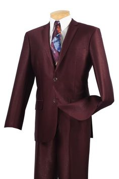 Single Breasted 2 Buttons, Slim Fit Suits, Shiny Flashy Satin Silky Metallic | MensITALY  Price: US $239