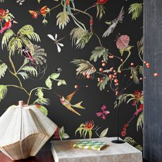 Wallpaper Birds of Paradise 17712 Designed for Living