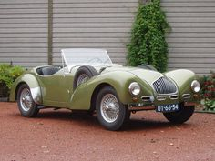 Allard K2 Roadster (1951) Maintenance/restoration of old/vintage vehicles: the material for new cogs/casters/gears/pads could be cast polyamide which I (Cast polyamide) can produce. My contact: tatjana.alic@windowslive.com