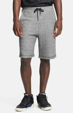 T by Alexander Wang Speckled French Terry Sweat Shorts available at #Nordstrom