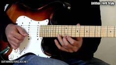 35 Blues Licks Guitar Lesson