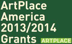 ArtPlace America 2013/14 Grants