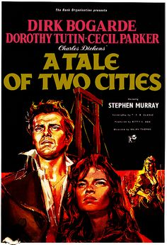 A Tale Of Two Cities - 1956. #film movie #cinema #posters