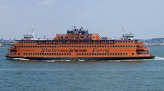 Staten Island Ferry in New York City
