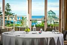 Conference with beautiful ocean views at Rydges Cronulla. Beautiful Ocean, Ocean Views, Conference, Sydney, Table Decorations, Wedding, Home Decor, Valentines Day Weddings, Decoration Home