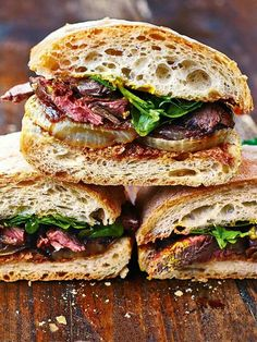Steak & Onion sandwich