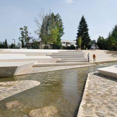 Velenje City Center Pedestrian Zone Promenada by Enota « Landscape Architecture Works | Landezine
