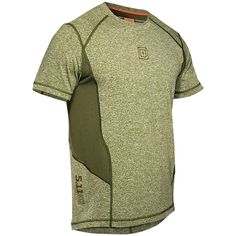 5.11 tactical recon performance top fitness gym breathable mens t-shirt fatigue