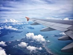 Up in the air. Phuket to Singapore