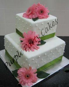 gerber daisy wedding cakes - Google Search