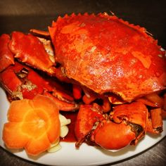 A treat for seafood lovers - Chili Crab, Boracay Mandarin Island Hotel, Boracay Island, Philippines